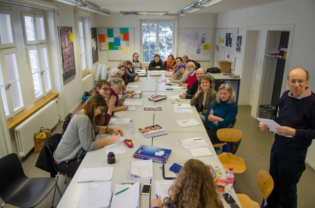 Ein «und»-Treffen im Januar 2016. – Bild: Manuel Meister