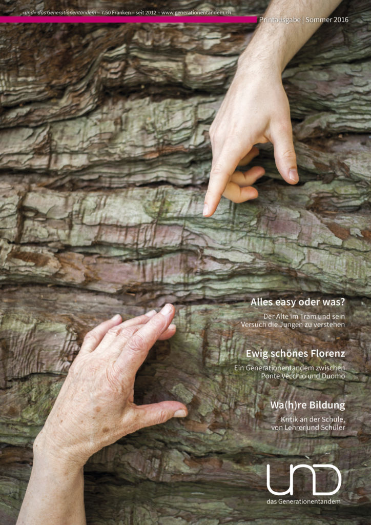 16. Ausgabe – Sommer 2016 – Dialog