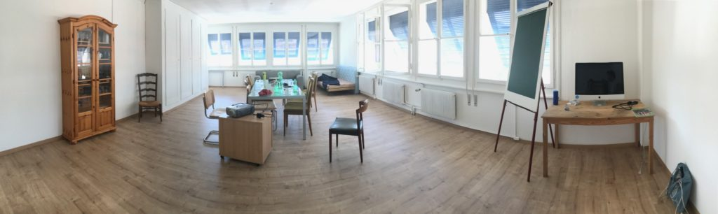 Willkommen im neuen «und»-Raum! – Bild: Annina Reusser